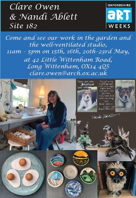 Oxfordshire Artweeks @ 42, Little Wittenham Road