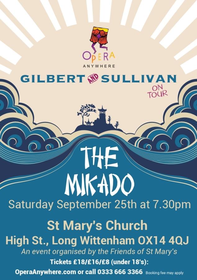 The Mikado @ St Mary's Church
