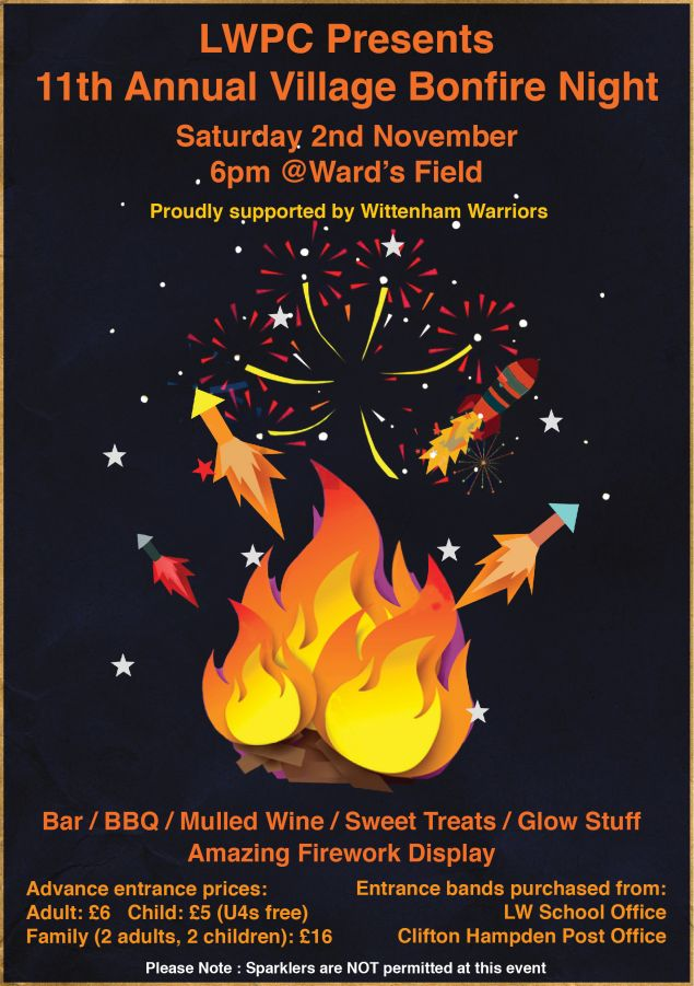 Bonfire Night @ Ward's Field