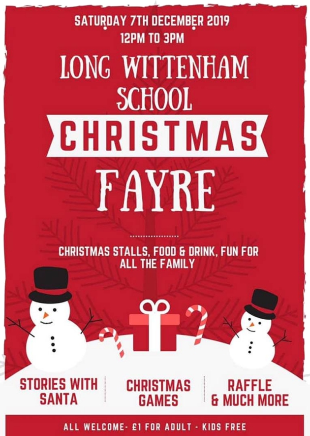Long Wittenham School Christmas Fayre @ Long Wittenham Primary School